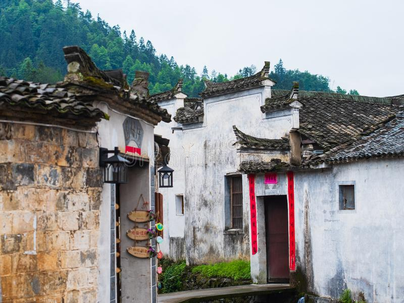 Architecture de Huizhou en Chine photo stock