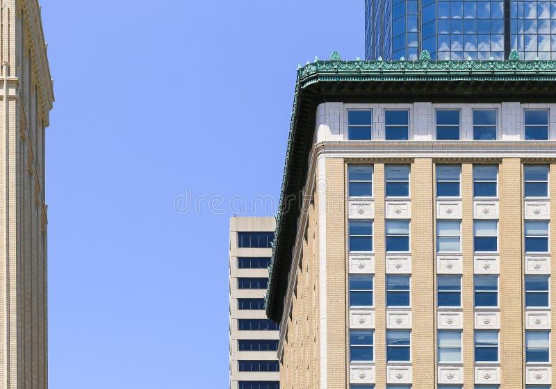 Architecture de Kansas City images libres de droits