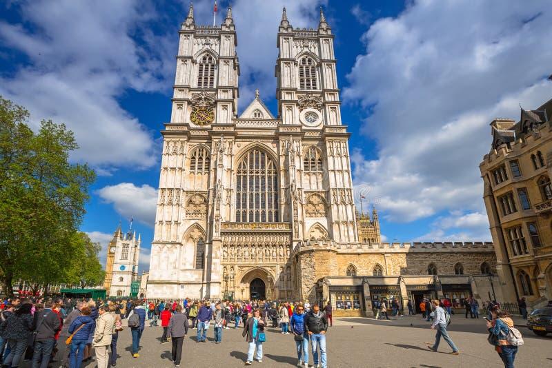 Architecture de l'Abbaye de Westminster à Londres photographie stock
