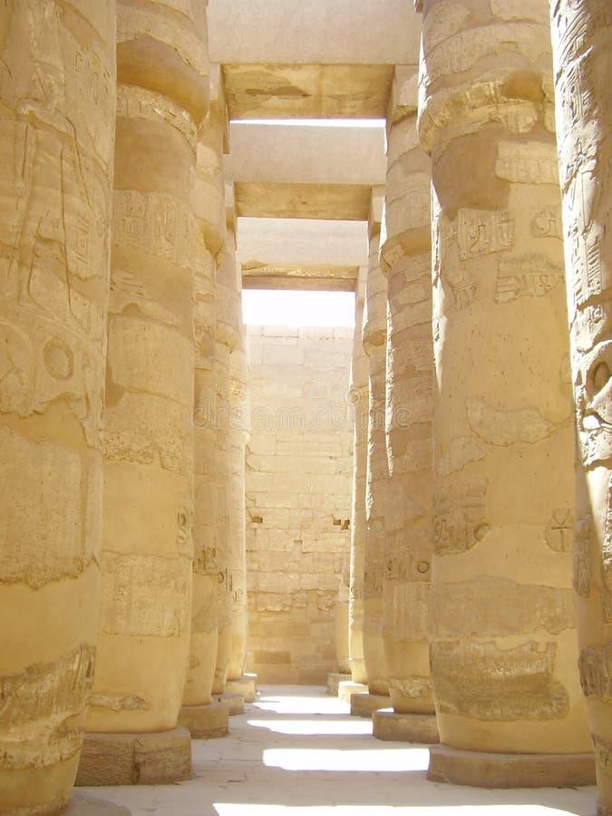 Architecture de l'Egypte image libre de droits