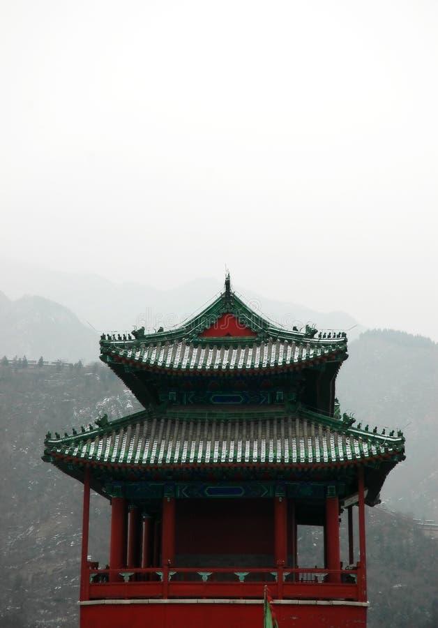 Architecture de la Chine photo libre de droits