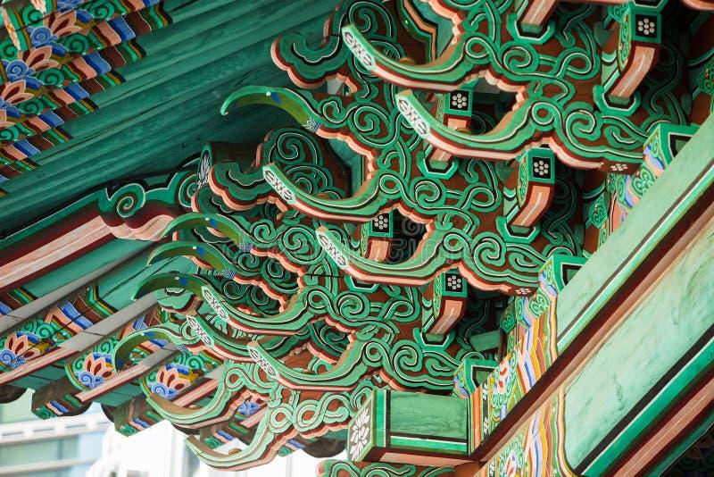 Architecture de la Corée du Sud photos libres de droits