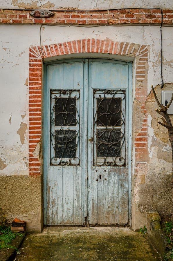 Architecture de la montagne de Palencia images libres de droits