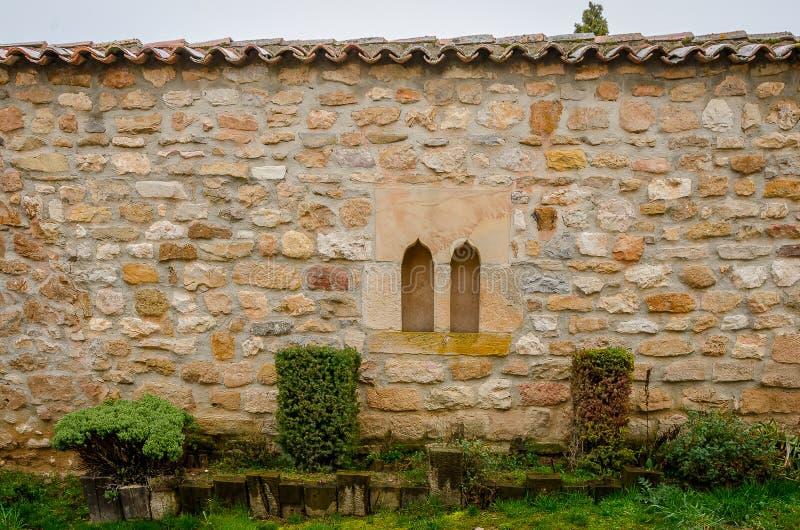 Architecture de la montagne de Palencia photo libre de droits