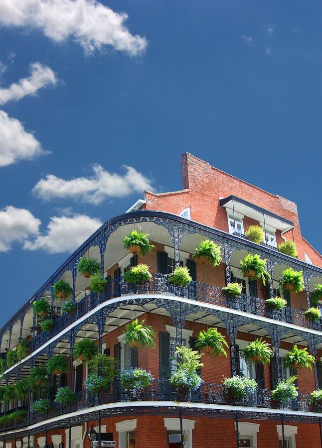Architecture de la Nouvelle-Orléans image libre de droits