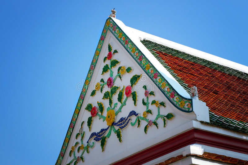 Architecture de la Thaïlande photo libre de droits