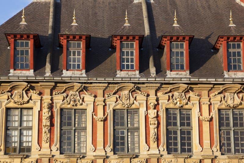 Architecture de Lille photographie stock