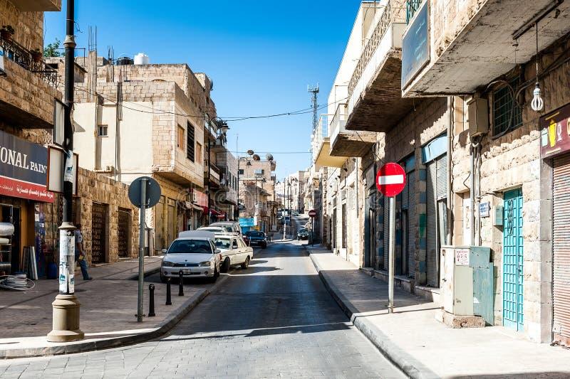 Architecture de Madaba, Jordanie image stock