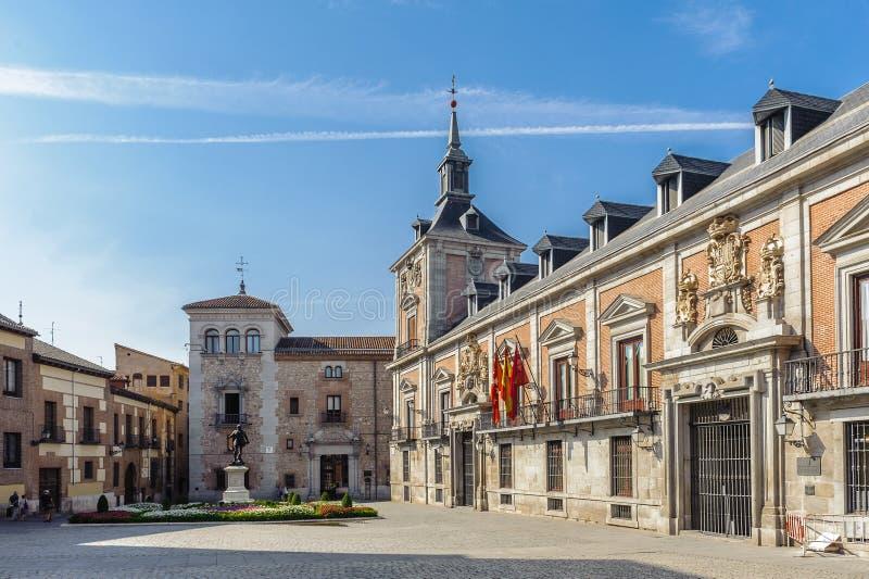 Architecture de Madrid, la capitale de l'Espagne image stock