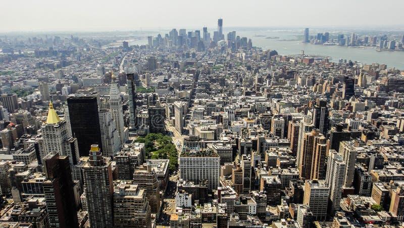 Architecture de Manhattan image libre de droits