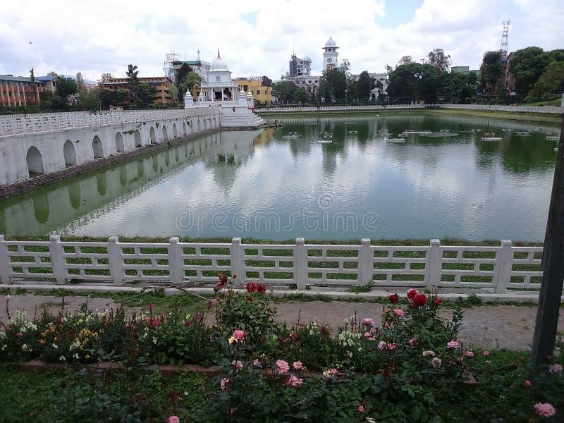 Architecture de Nepali image libre de droits