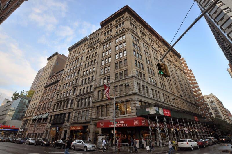 Architecture de New York, Broadway, Manhattan, NYC image stock