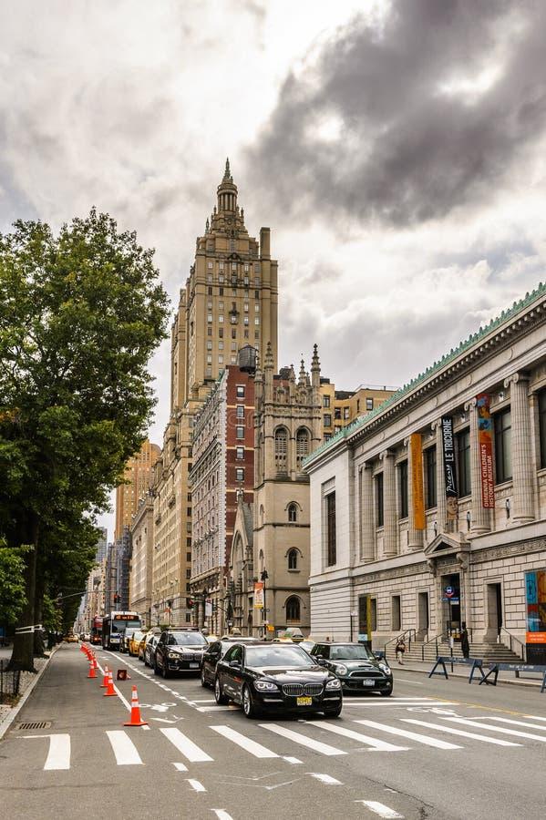 Architecture de New York, Etats-Unis images libres de droits