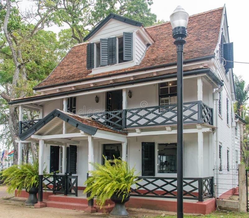 Architecture de Paramaribo images stock