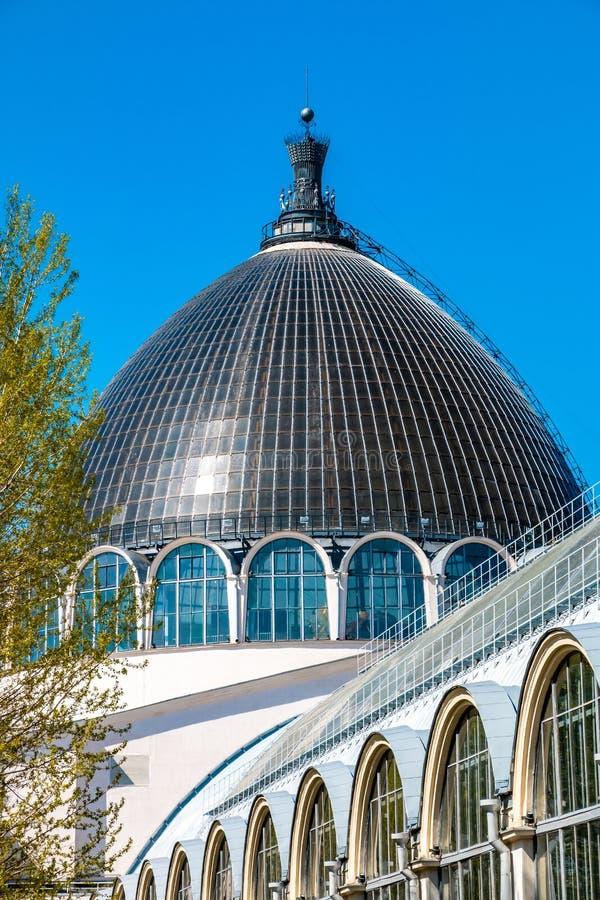 Architecture de parc de ville de VDNH ? Moscou, Russie photos libres de droits