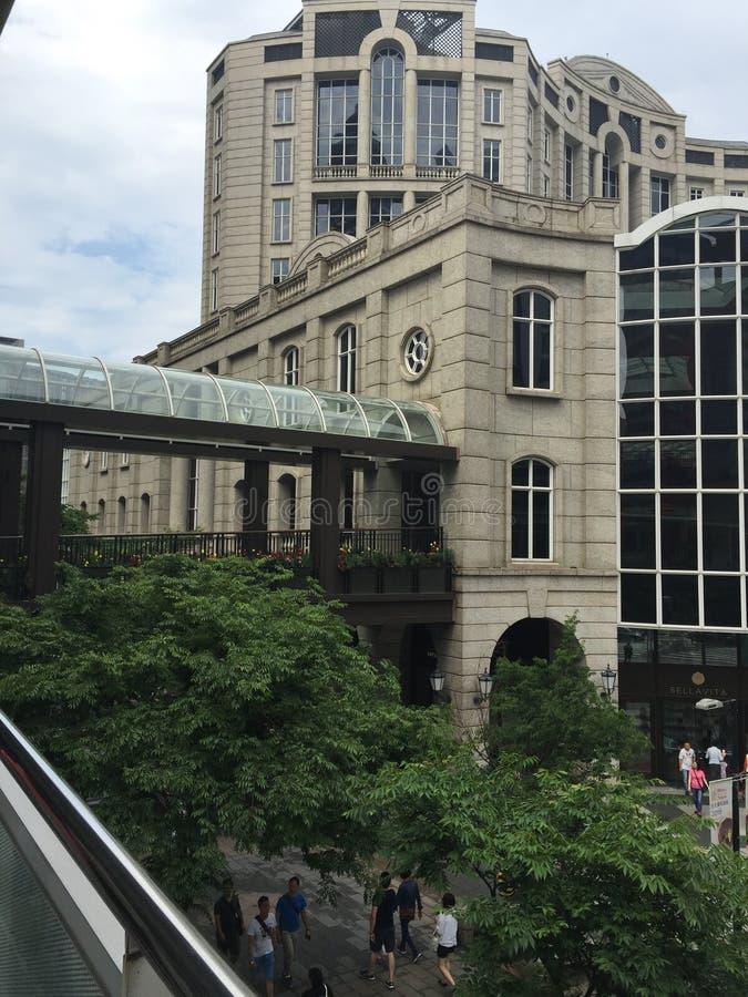 Architecture de pont de connexion photo stock
