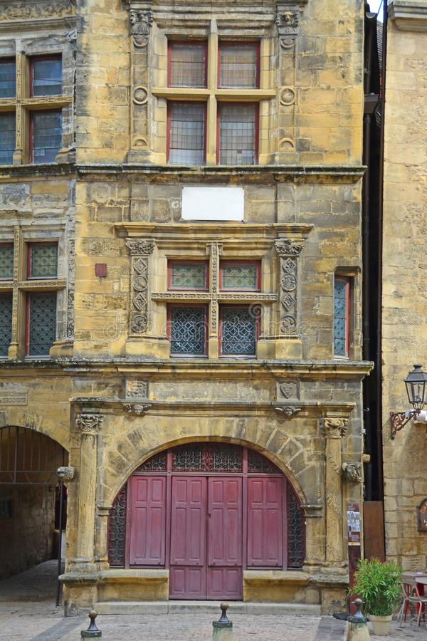 Architecture de Sarlat photos libres de droits