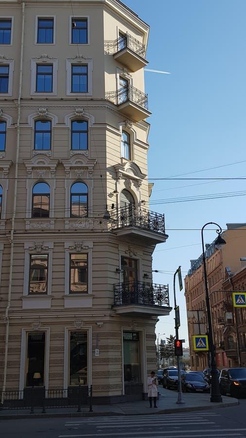 Architecture de St Petersbourg image libre de droits