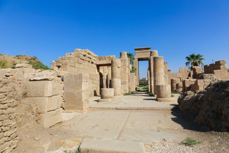 Architecture de temple de Karnak - Egypte photo libre de droits