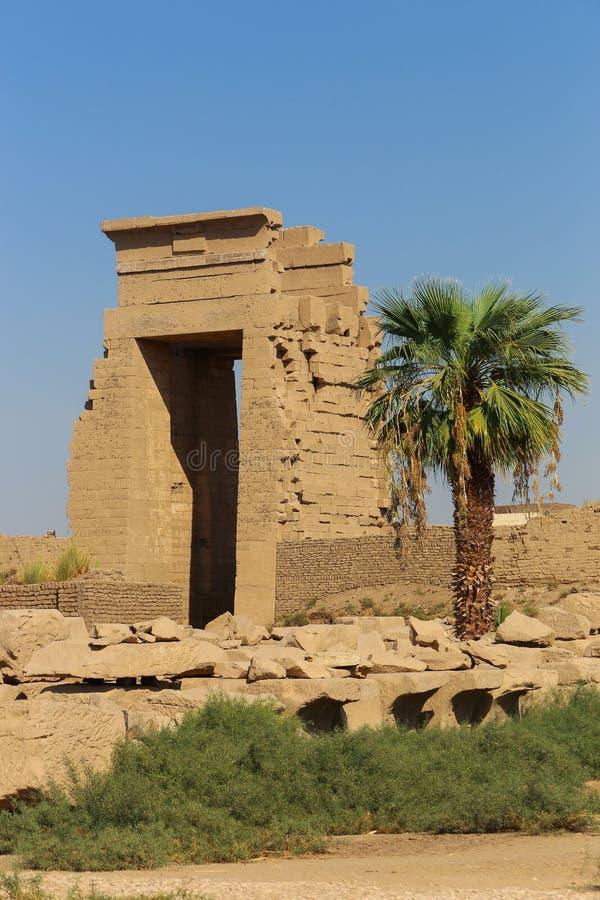 Architecture de temple de Karnak - Egypte photos libres de droits