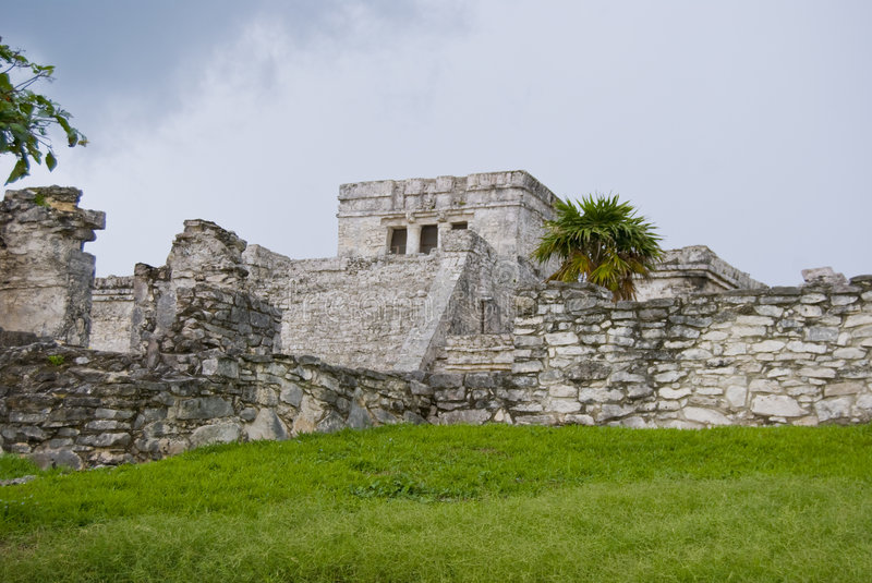 Architecture de Tulum images libres de droits
