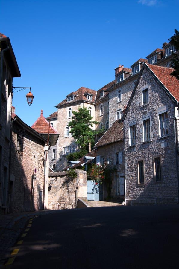 Architecture de vieux Besançon photographie stock