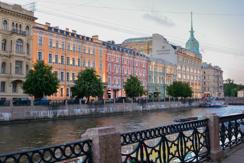 Architecture de vieux St Petersbourg Russie de ville photos stock