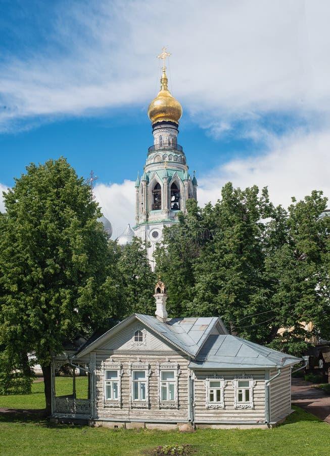 Architecture de Vologda image libre de droits