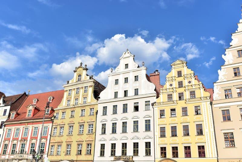 Architecture de Wroclaw images libres de droits