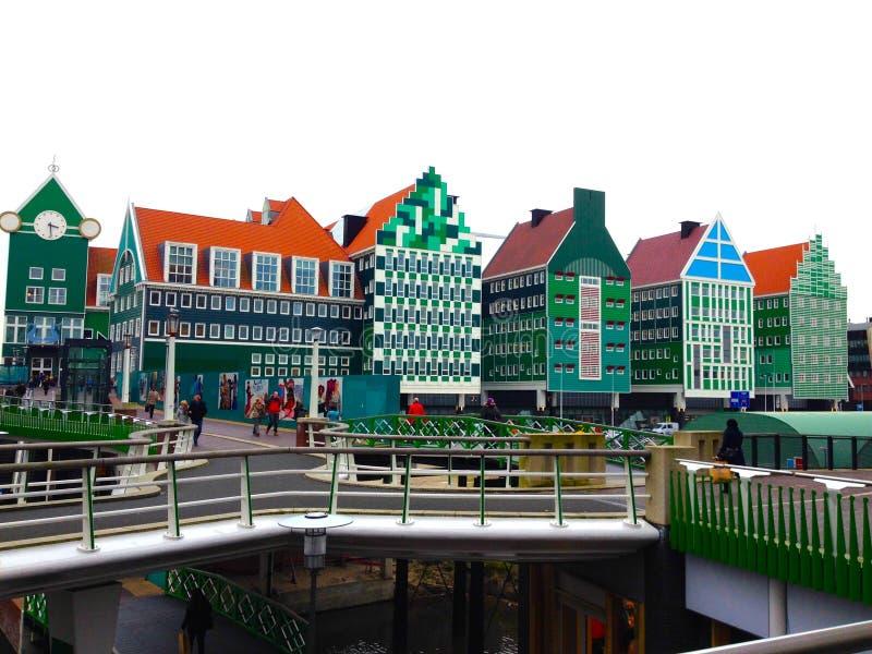 Architecture de Zaandam photos libres de droits