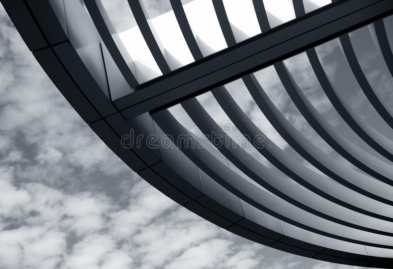 Architecture design. Nice abstract image of a architecture design stock image