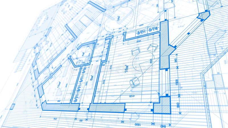 architectural design blueprint. Exellent Blueprint Download Architecture Design Blueprint Plan  Illustration Of A Mod  Stock To Architectural Design S