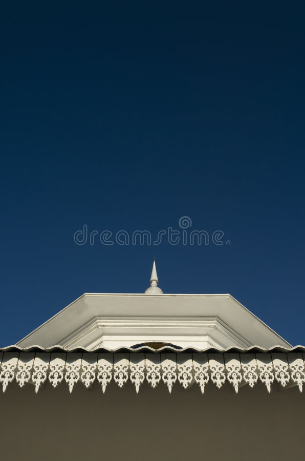 Architecture detail of an old mosque. stock images