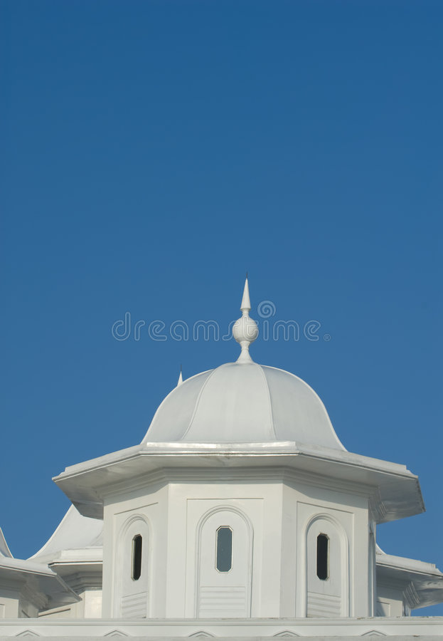 Architecture detail of an old mosque. stock image