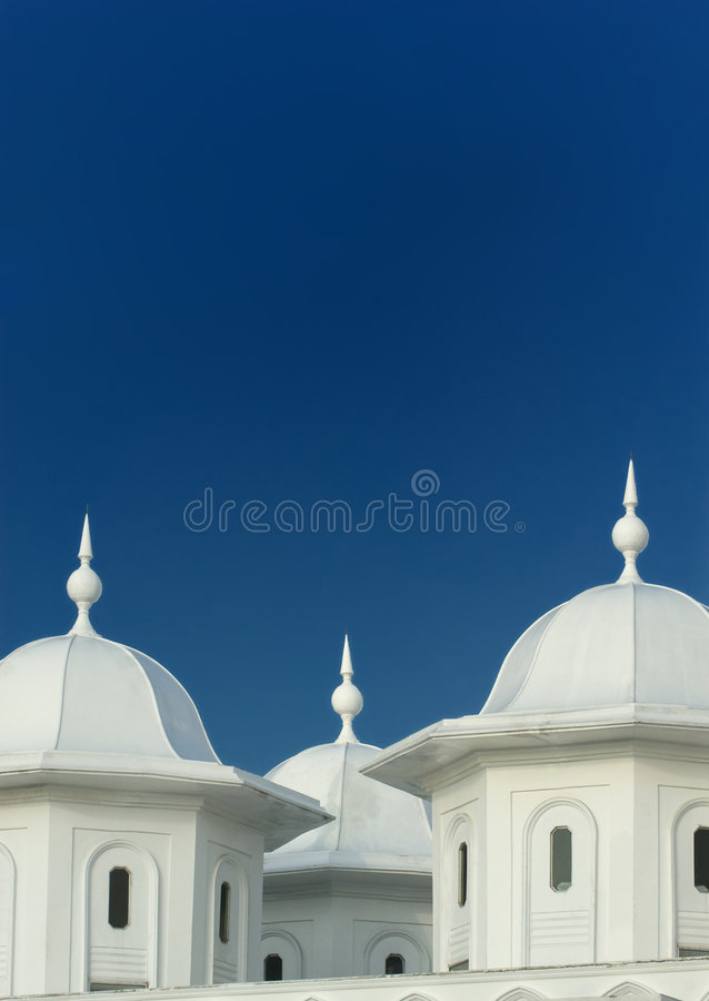 Architecture detail of an old mosque. stock photography