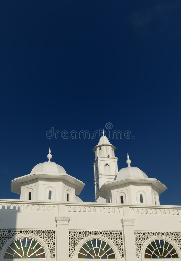 Architecture detail of an old mosque. royalty free stock images