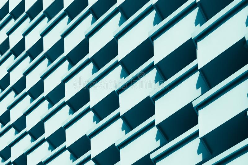 Architecture details wall pattern geometric abstract background. Abstract modern architecture background. Texture, pattern geometry royalty free stock photo