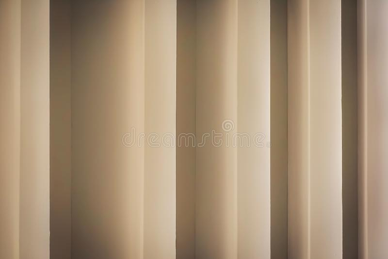Architecture details wall pattern geometric lines and shadow is abstract background stock photo