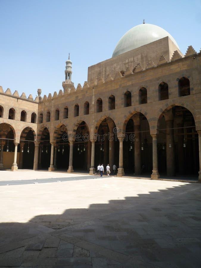 Architecture du Citadela au Caire, Egypte photographie stock