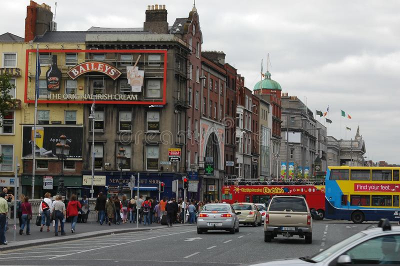 Architecture in Dublin, Ireland stock image