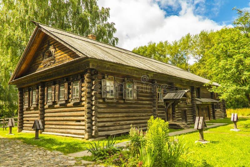 Architecture en bois, huttes photo libre de droits