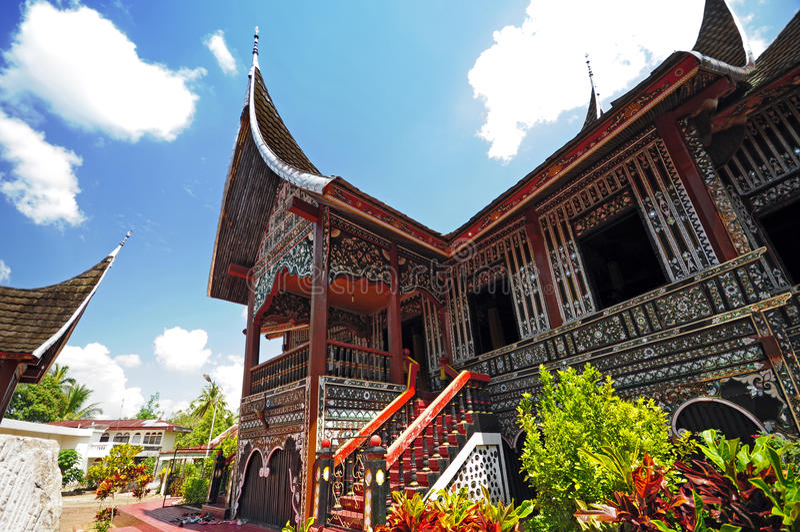 Architecture en Indonésie photographie stock