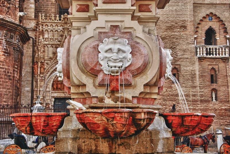 Architecture en Séville photographie stock libre de droits