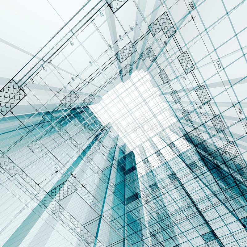 Download Architecture engineering stock illustration. Image of business - 13055699