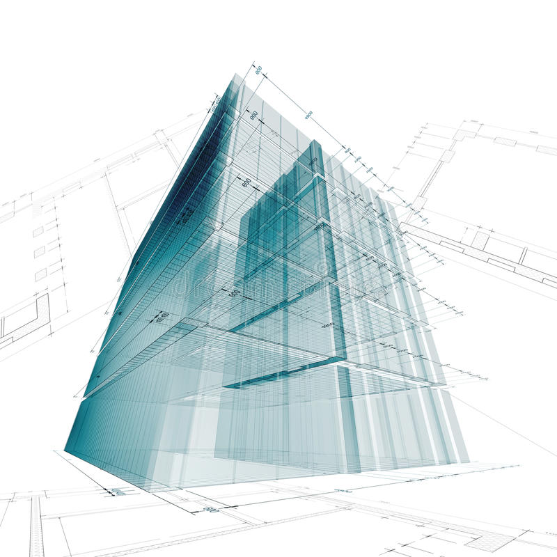 Architecture engineering stock photo