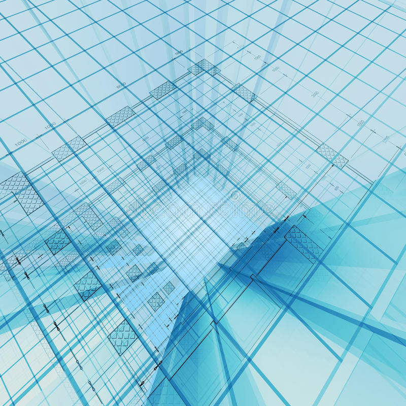 Download Architecture engineering stock illustration. Image of abstract - 17091189