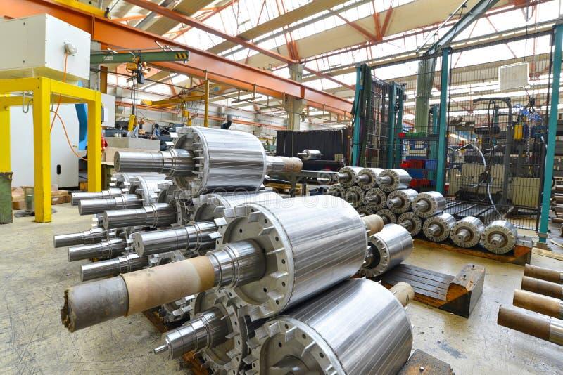 Architecture et équipement d'une usine pour l'engineeri mécanique photos libres de droits