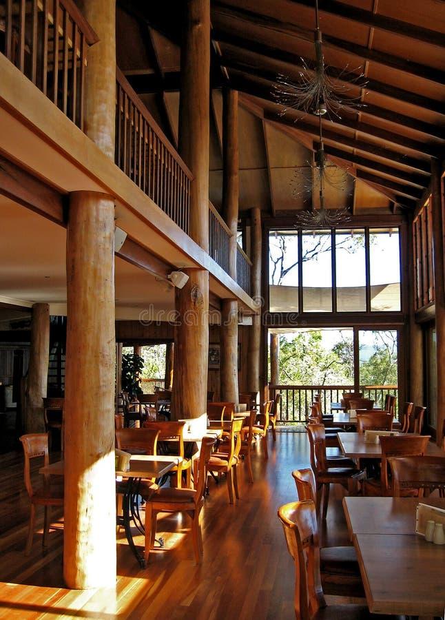 Architecture et meubles de bois de construction image libre de droits