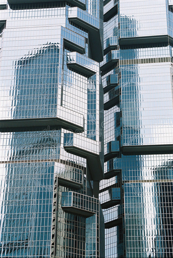 Architecture Extreme Lippo Tower royalty free stock image