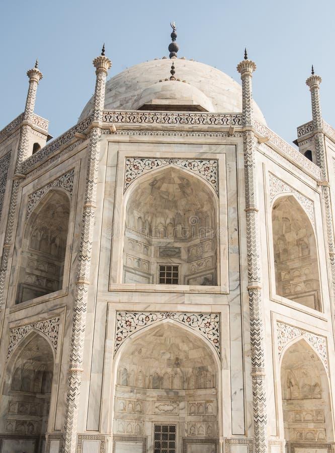 Architecture fascinante en Taj Mahal photo stock